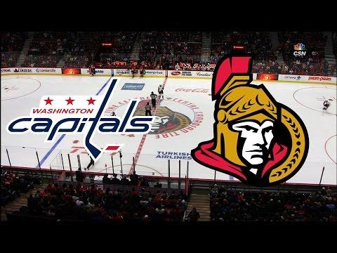 Washington Capitals vs Ottawa Senators 22/03/16 All goals