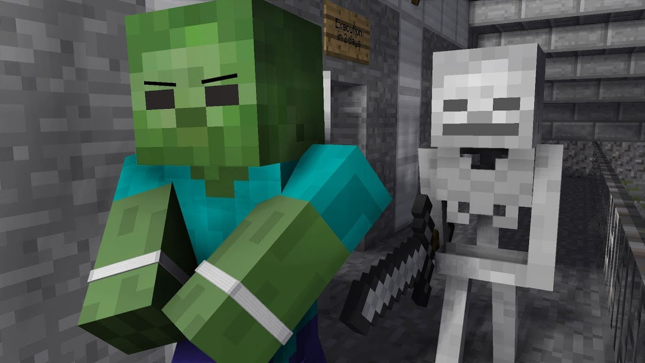Zombie Life 4 Minecraft Animation Youtube