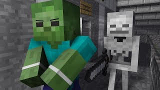 - Zombie Life 4 Minecraft Animation