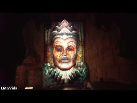 [HD] 2017 Indiana Jones Adventure ride: Temple of the Forbidden Eye Newly Refurbished 2017