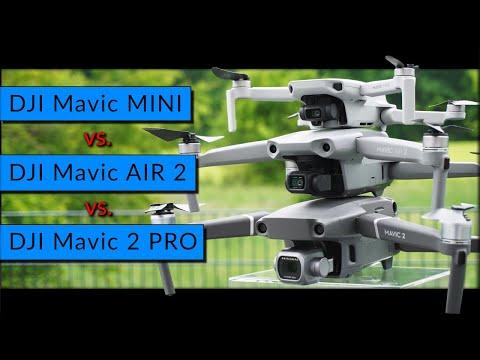 Beste Drohne 2020? Vergleich DJI Mavic AIR 2 V. MINI Vs. Mavic 2 PRO