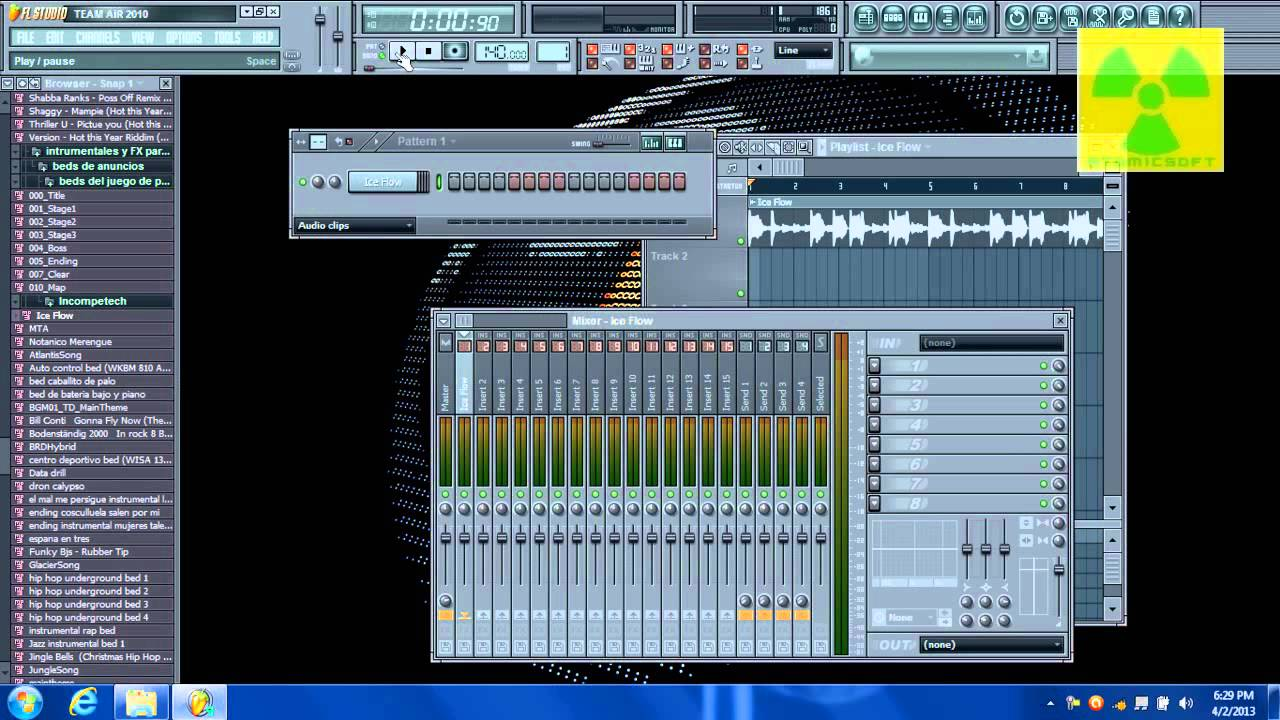 how to put sounds on fl studio