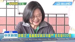 20190404中天新聞 跟韓流? 嘉義鳳梨銷深圳廈門 差高雄600倍