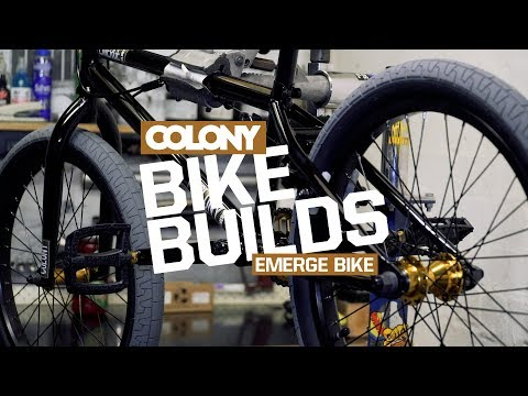 Unboxing and build of the 2018 Colony Emerge in Gloss Black / Gold. More info on the Colony Emerge here: ...