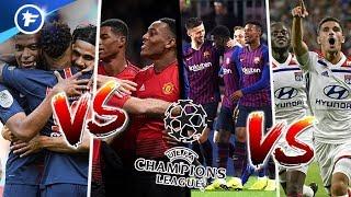 Le tirage complet des 8e de la Ligue des Champions | Réactions à chaud OL, PSG