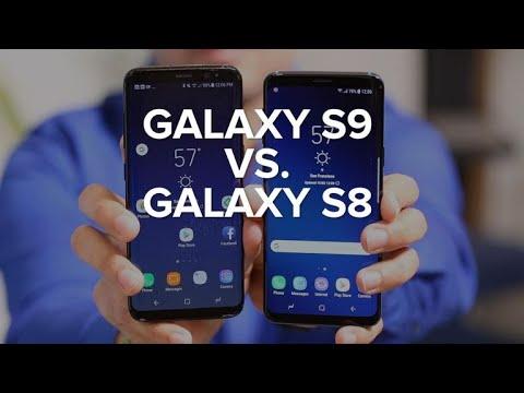 Galaxy S9 vs. Galaxy S8: What