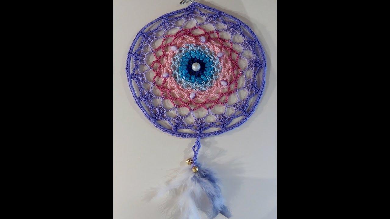 Come Fare Un Acchiappasogni Mandala A Uncinetto Crochet