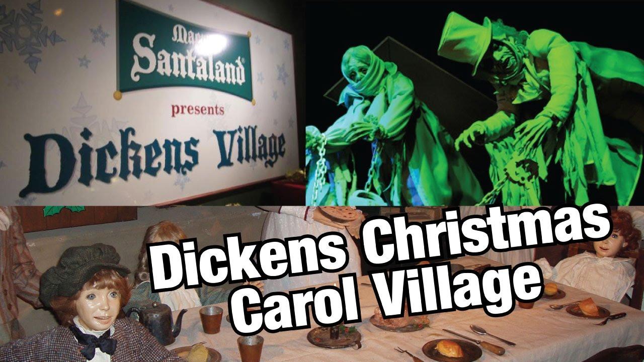 Dickens Christmas Carol Village In Philadelphia Youtube