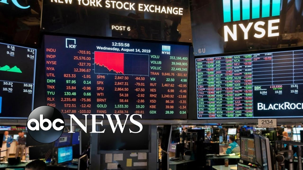 ABC News:Dow plunges 800 points amid growing recession fears | ABC News