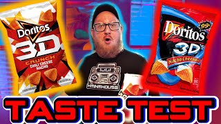 3D Doritos are BACK!!!! (Taste test)