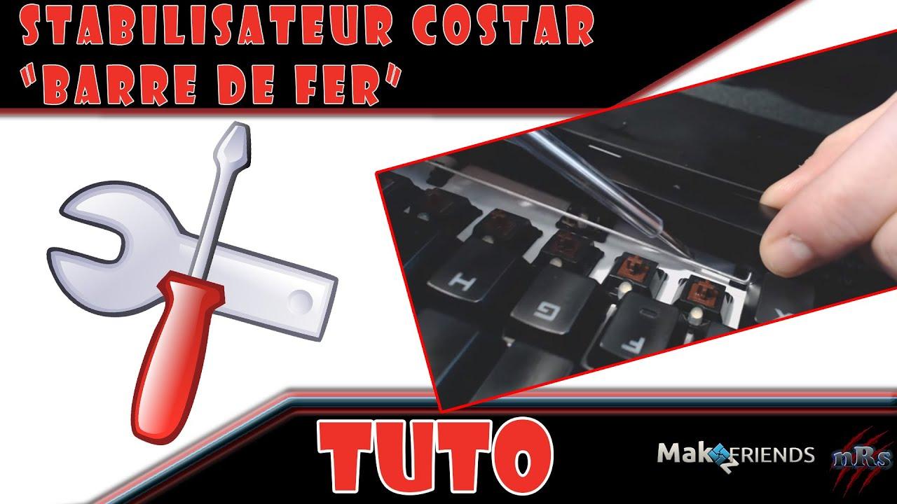 Tuto Remettre Une Touche Clavier Mecanique Avec Stabilisateur