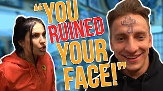 Tattoo Prank on Mom Gone Wrong!