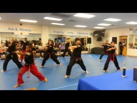 CORE Team - Martial Arts Demo - Musical Form Competition 2013