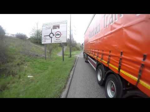 DF65OGA Uk bad drivers Bacton Transport