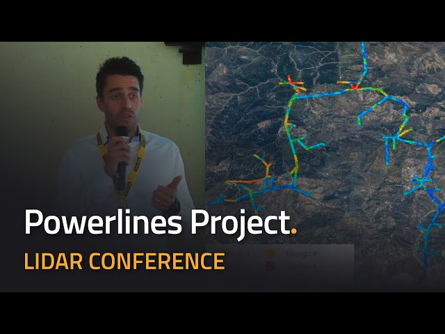 LiDAR for Drone 2017 - YellowScan International User Conference - Powerlines Use Case with Hemav