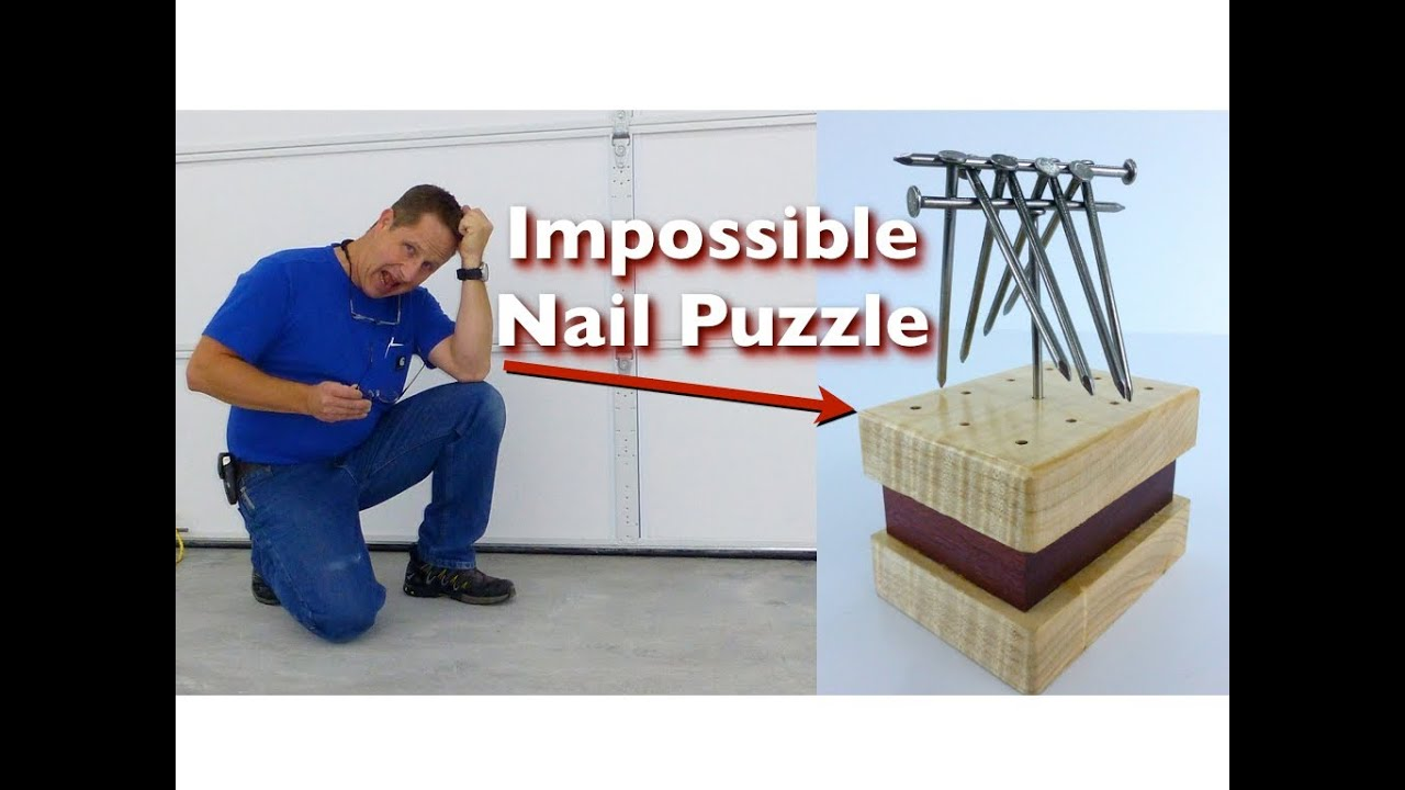 Impossible Nail Puzzle - YouTube