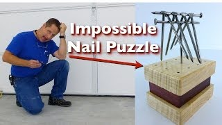 Impossible Nail Puzzle