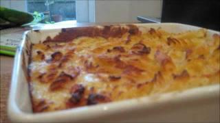 Pasta Bake: Ham & Cheese