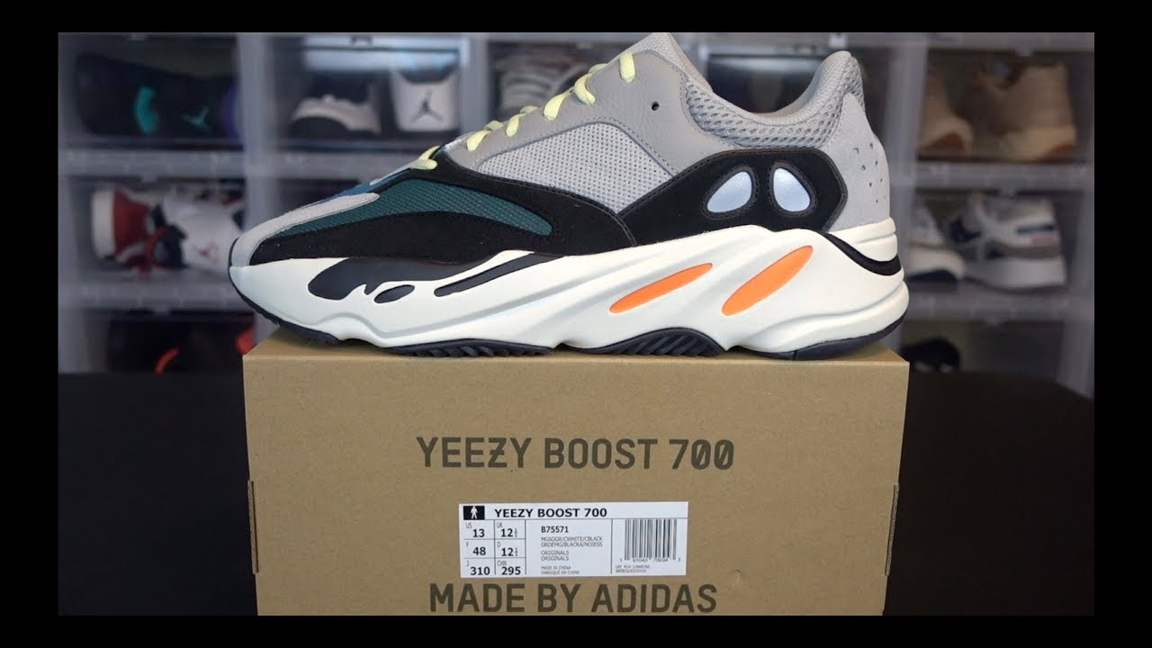 56177f4c3 ADIDAS YEEZY BOOST 700 WAVE RUNNER REVIEW - YouTube