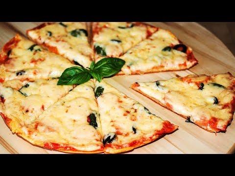 🔴 Пицца за 5 Минут на Сковороде 🍕 Быстрая Пицца на Завтрак без Выпечки в Духовке ✧ Ирина Кукинг