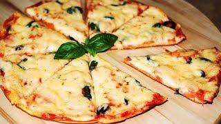 Пицца за 5 Минут на Сковороде 🍕 Быстрая Пицца на Завтрак без Выпечки в Духовке ✧ Ирина Кукинг