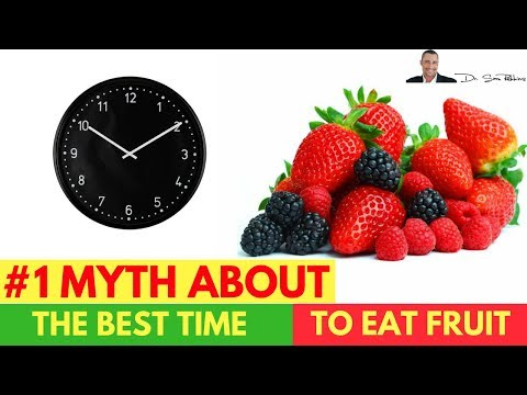 🍒 #1 Myth About The Best Time To Eat Fruit - by Dr Sam Robbins