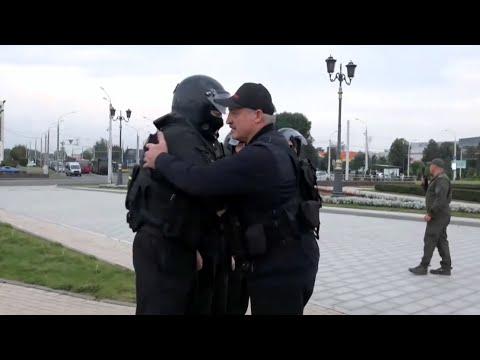 Лукашенко Вы красавцы Мы с ними разберёмся Рабочий день Президента
