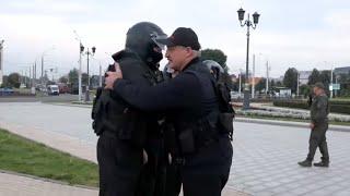 Лукашенко: Вы красавцы! Мы с ними разберёмся! Рабочий день Президента