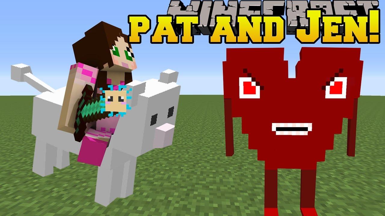 Minecraft: PAT JEN MOD (CLOUD HEART BOSS PUFFERFISH