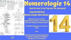 Ganzheitliche Numerologie - Die Zahl 14