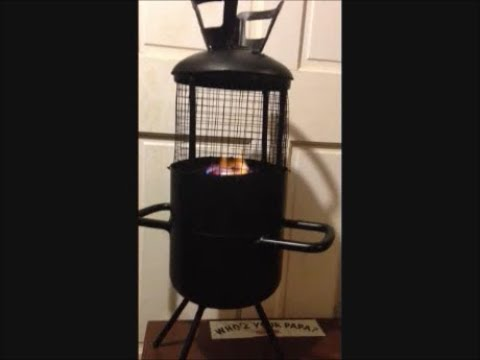 DIY Welding Fabrication Project: Freestanding Metal Fire Pit from Refridgerant Cannister