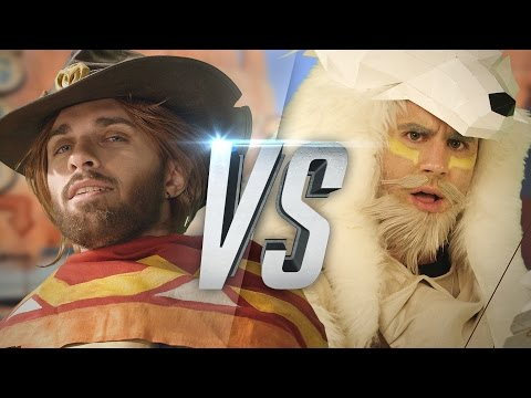 OVERWATCH RAP BATTLE