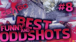 CS:GO - THE BEST OF TWITCH ODDSHOTS - #8