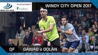 Squash: Gawad v Golan - Windy City Open 2017 QF Highlights