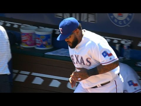 SEA@TEX: Banister, Rangers starters introduced