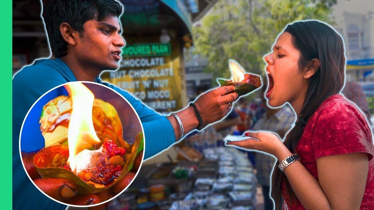 انها الهند _ اقذر اكلات الشوارع في العالم 😷😷