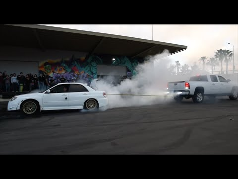 [HOONIGAN] Club Days - WRX STI vs DuraMAX