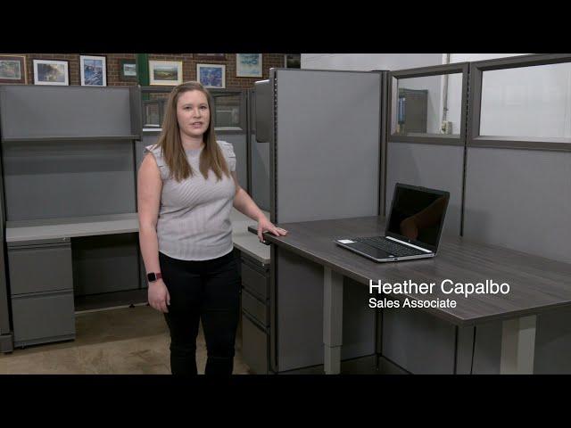 Devon Office Furniture Workstations - Standing Desks and Modular Work areas
