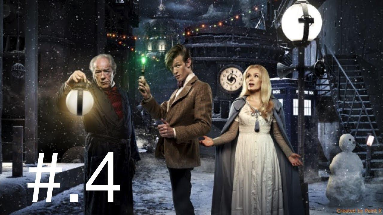 "(Fresh Reaction to) Doctor Who season 6 episode 0 ""a Christmas carol"" part 4 - YouTube"