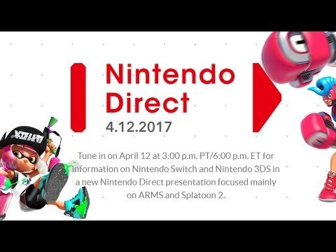 Nintendo Direct - 4/12/2017