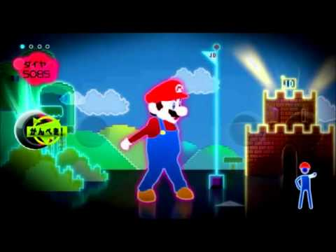 how to get mario on just dance 3