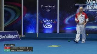 Just. 2019 World Indoor Bowls Championships: Day 8 Session 2