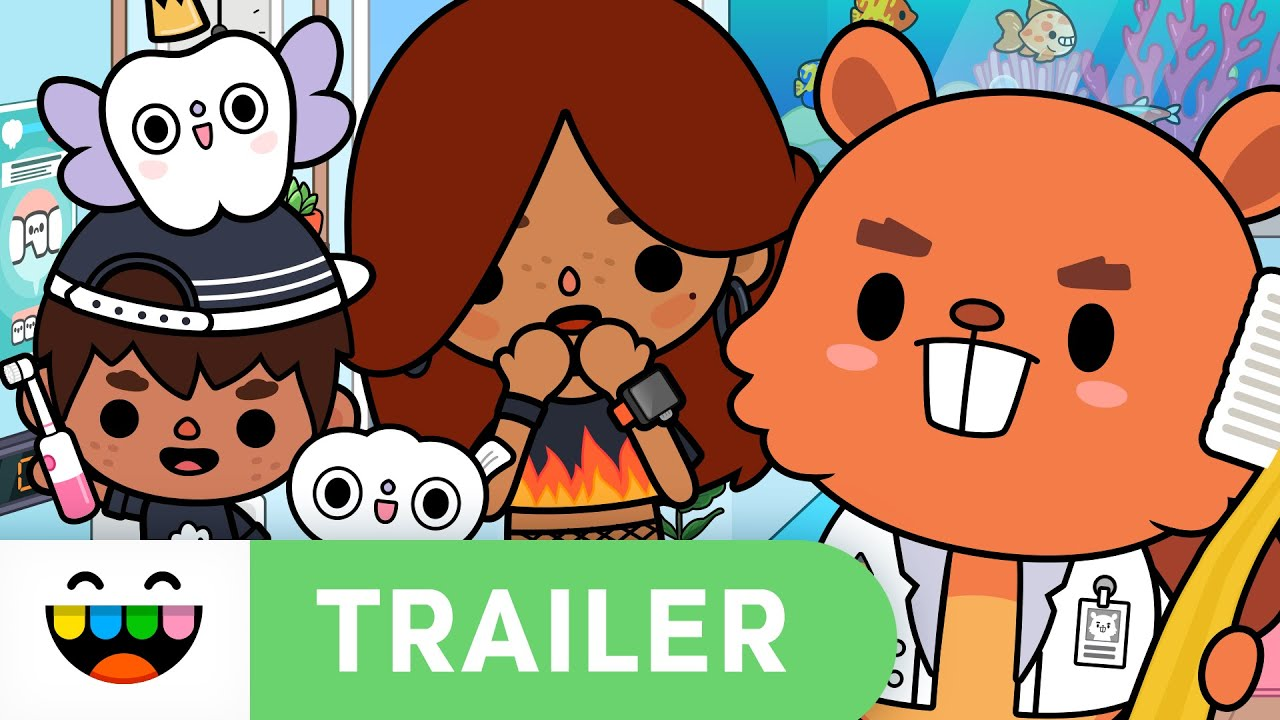 MAY THE FLOSS BE WITH YOU! 🦷 | Dentist Trailer | Toca Life: World