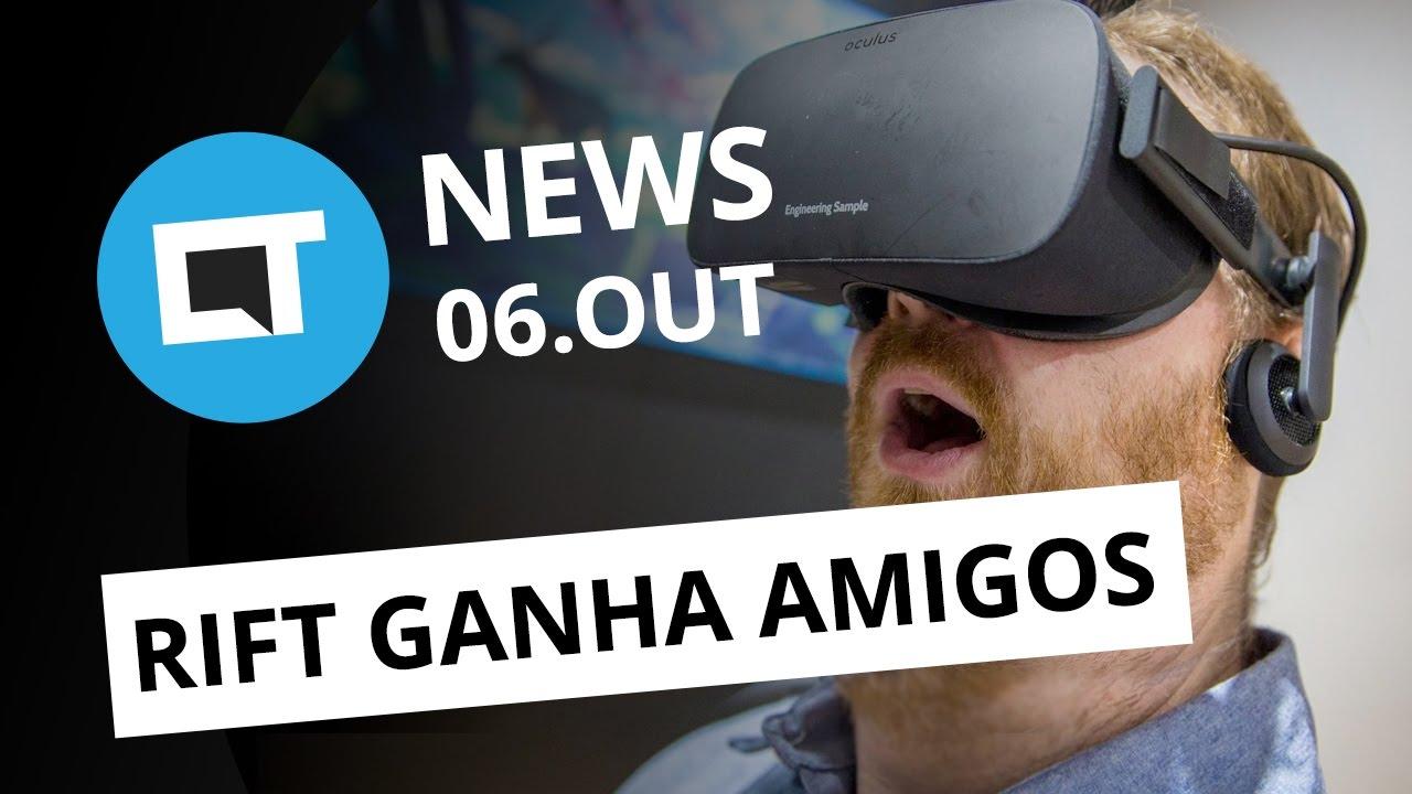 PC e controles para o Oculus Rift