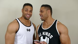 Dangerous Bodybuilding Leg Exercise @hodgetwins