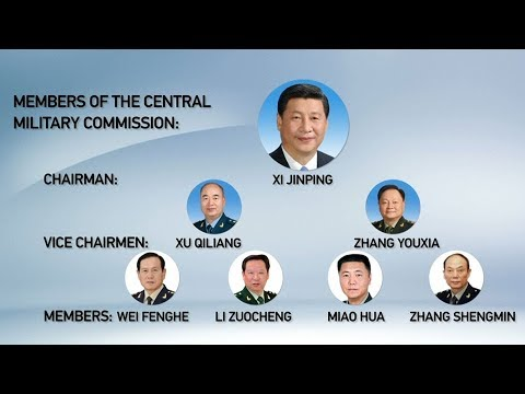 China's military leadership undergoes reshuffle as PLA restructures