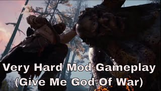 God Of War 4 PS4 Very Hard Mode (Give Me God Of War) Gameplay - Part 1