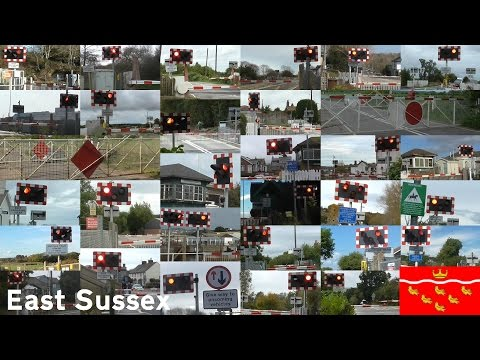 Level Crossings in East Sussex (2016)