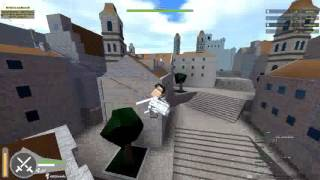 Roblox Attack On Titan (AOT) Story : Part 2 Ep1