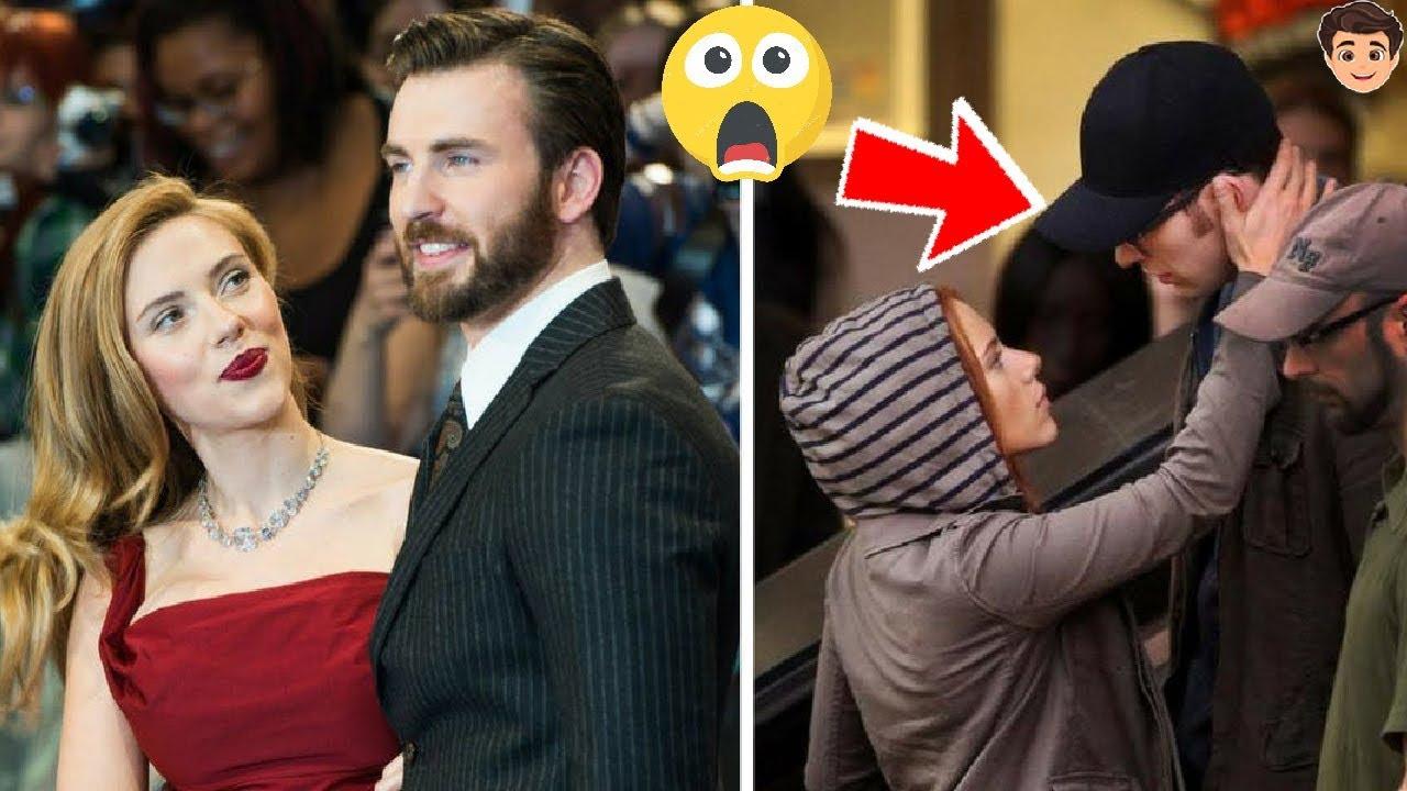 Ultima Hora Scarlett Johansson Y Chris Evans Juntos Youtube